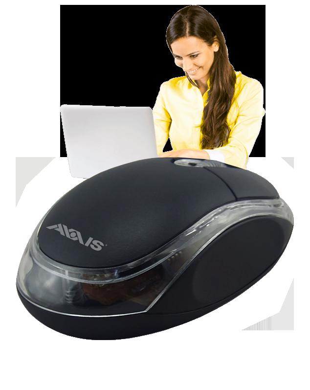 Mouse Clásico USB
